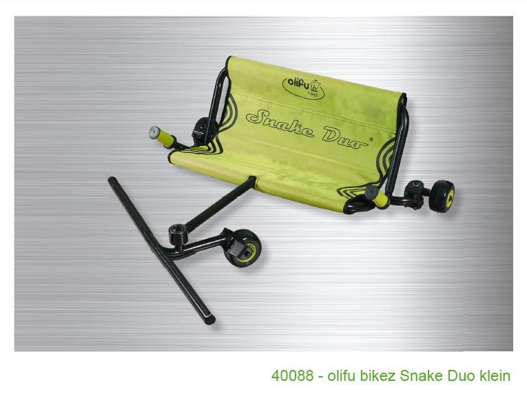 Olifu bikez snake dvivietis, mažas (4-7 metų) Image