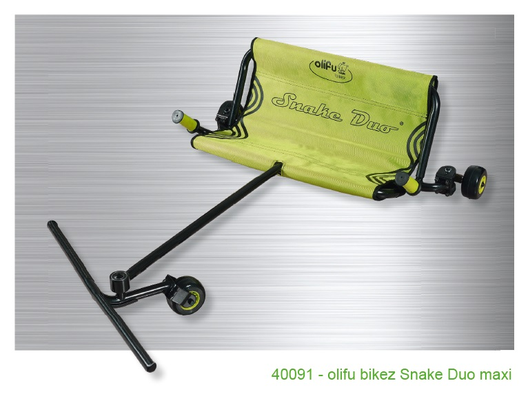 Olifu bikez snake dvivietis, didelis (9-15 metų) Image
