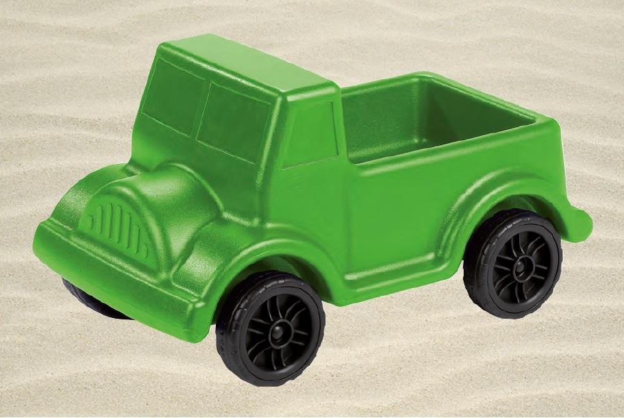 Didžiulis smėlio sunkvežimis Image