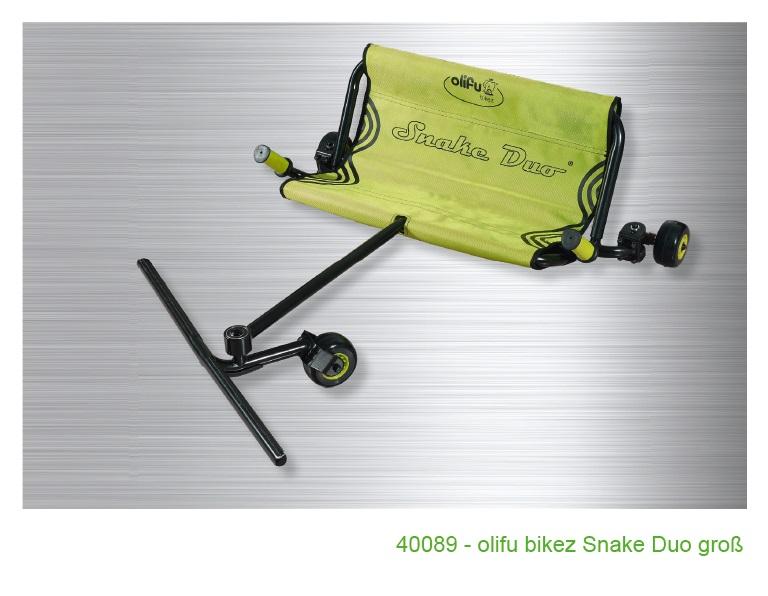 Olifu bikez snake dvivietis, vidutinis (5-10 metų) Image
